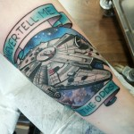 tatuointi kerava, tatuointi järvenpää, tatuointi tuusula, tatuointi sipoo, tatuointi uusimaa, tatuointi etelä-suomi, paras tatuoija etelä-suomi, parhaat tatuoinnit, star wars tattoo, millenium falcon tattoo, nerd tattoo, space tattoo, neo traditional tattoo, zombie tattoo, zombie tattoo helsinki, matzon,