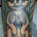 magnusti tatuointi colour tattoo animal tattoo