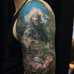 avenged sevenfold realistic tattoo by matzon zombie tattoo
