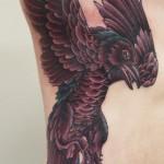 Bird tattoo lintu tatuointi