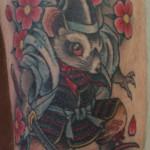 samurai mouse tattoo
