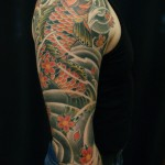 koi japanese tattoo