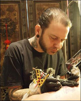 Matzon Zombie Tattoo