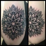 b&g mandala tattoo