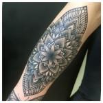 mandala tatuointi tattoo