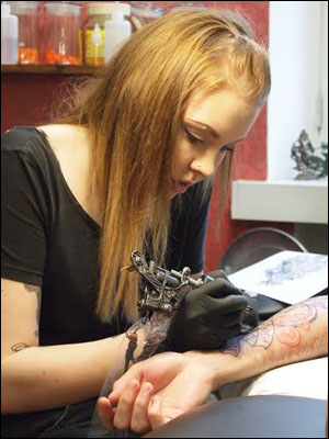 Salla Zombie Tattoo