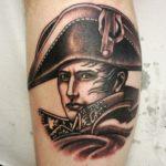napoleon, tatuointi, napoleon tatuointi, neotrad portrait, black and grey tattoo , B&G tatoo, bng tattoo, mustaharmaa tatuointi, tatuointi kerava, tatuointi järvenpää, tatuointi helsinki, tatuointi tuusula, tatuointi uusimaa, zombie tattoo, zombie tattoo kerava, zombie tattoo uusimaa, zombie tattoo helsinki, zombiematzon, tattoomatzon, matzon, tatuointi matzon,