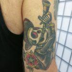 skeleton tattoo, mariachi band, mariachi tattoo, mariachi tatuointi, torvensoittaja, music tattoo, musiikkitatuointi, luurankotatuointi, zombie tattoo, zombie tattoo kerava, zombie tattoo helsinki, zombie tattoo finland, zombie tattoo suomi, zombie tattoo matzon, matzon, tattoomatzon, tatuointi matzon, tatuointi kerava, tatuointi suomi, tatuointi kerava, tattoo finland, traditional tattoo, color tattoo, colour tattoo, perinteinen tatuointi, old school tatuointi