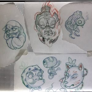 zombie tattoo kerava, zombie tattoo matzon, tebori, tebori tattoo, teboritatuointi, japanese tattoo, japanese tattoos, japanese tattoos in finland, tatuointi kerava, kerava tattoo, tatuointiliike kerava, custom tattoo, matzon, zombiematzon, tattoomatzon