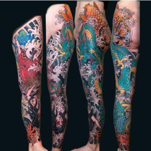 japanilainen tatuointi, japanese tattoo, japanese tattoo in finland, japanilainen tatuointi, custom tattoo, tatuointi kerava, kerava tattoo, zombie tattoo, zombietattoofi, zombie tattoo kerava