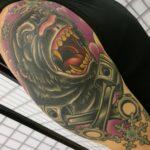 gorilla tattoo, gorilla tatuointi, animal tattoo, animal tattoos, eläintatuointi, zombie tattoo, zombie tattoo kerava, zombietattoofi, zombie tattoo finland, zombie tattoo suomi, zombiematzon, tattoomatzon, matzon, custom tattoo, custom tattoos finland, neotraditional tattoo, neotraditional tattoos in finland, color tattoo, color tattoos, colour tattoos, colour tattoo, tatuointi kerava, tatuointiliike kerava, tatuointi keski-uusimaa, tatuointi helsinki, custom tattoo kerava, custom tattoo helsinki, tatuointiaikoja helsinki, tatuointiaikoja kerava