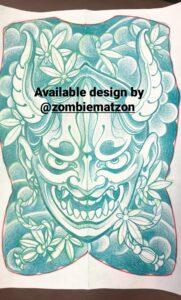 japanilainen tatuointi, japanese tattoo, japanese tattoo in finland, japanilainen selkätatuointi, selkätatuointi, backpiece, japanese backpiece, hannya tattoo, hannya backpiece, hannya tatuointi, tatuointi kerava, helsinki ink,
